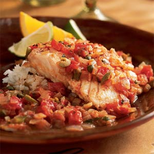 Fish and seafood the paella artisan catering for Fish veracruz recipe